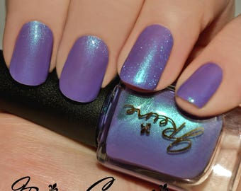Violahh... - Blue Green Purple Multichrome Shimmer Nail Polish