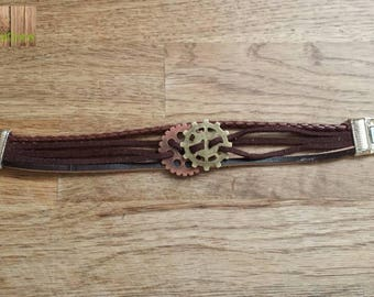Brown bracelet for men