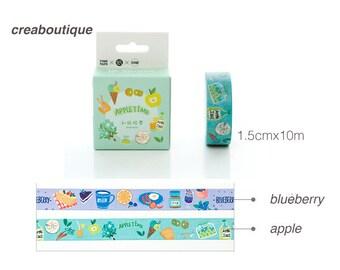 Masking Tape apple/PAPER Tape/Deco Tape/washi tape