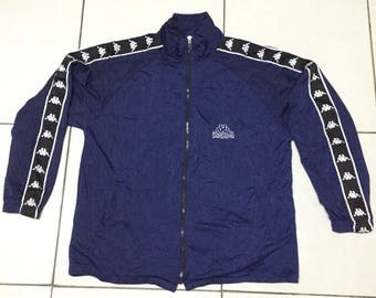 Vintage 90s Kappa Trainer Jacket Embroidery Medium