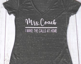 Custome T-Shirt ( Mrs. Coach)