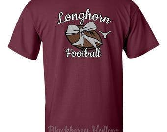 Longhorn Football Monogram Spiritwear T-Shirt