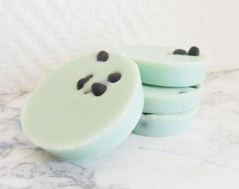 Organic scented tablets // LAVENDER & PEPPER MINT x4 // 100% natural soy wax // Organic essential oils - Handmade