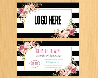 Printable  Scratch Off Cards , Scratch Card , Scratch To Win Digital Download | SW_03