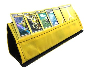 Yellow  Collapsible Card Stand