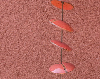 Ceramic Windchimes - Approximately 32 Inches