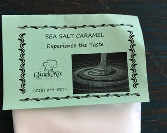 Sea salt carmel