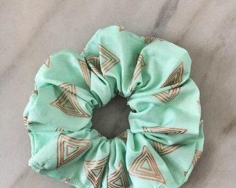 Bermuda SGagnonB Scrunchie Scrunchies Hair elastic band Hair Tie - band hair Ponytail accessories-gold-gold hair ties