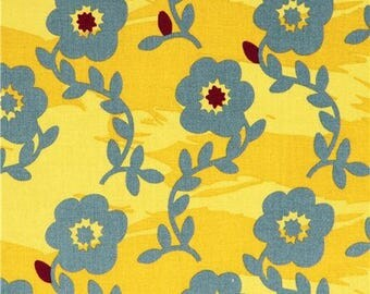 WANDERLUST by KOKKA collection yellow patchwork fabric