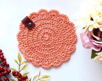 Table Decor, Handmade Crochet coaster, Home Decor, Made to Order