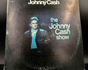 JOHNNY CASH VINYL Record - The Johnny Cash Show - Rare Vintage Original Vinyl Record - Awesome Condition! - Great Gift!!