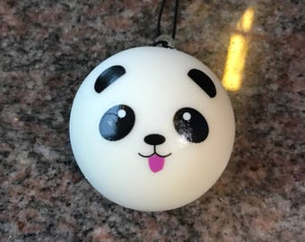 Mini panda bun squishy