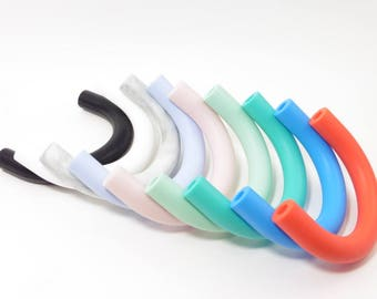 teething U shape 100% silicone for making necklaces