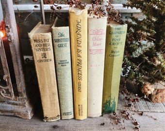 Old Books - Very Old Romance Novels