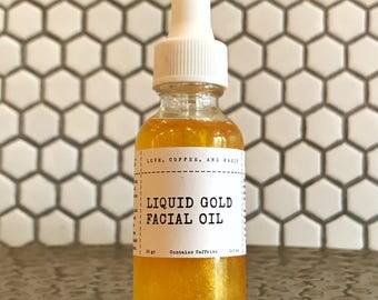 n 24 Liquid Gold Facial Oil