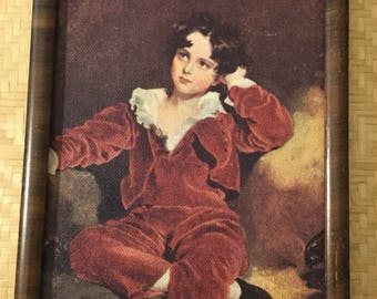 Vintage picture of Red Boy By Sir Thomas Lawrence