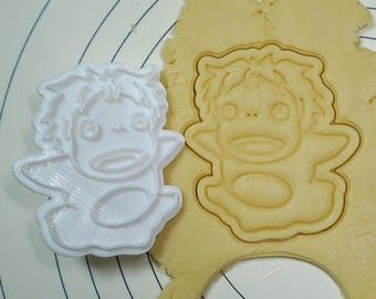 Ponyo Cookie Cutter and Stamp