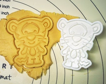 Tigger Cookie Cutter and Stamp