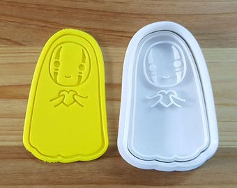 Kaonashi Cookie Cutter and Stamp