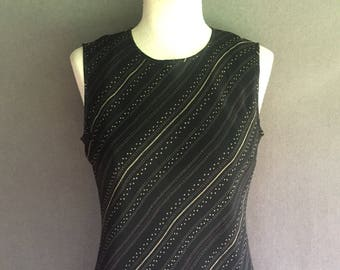 Vintage Ann Taylor Silk Maxi Dress