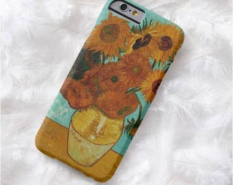 Sunflowers by Van Gogh CASE iphone 7 iphone 4s 5 5C 5s 6 6s 6 plus samsung s4 s5 s6 s7 s6 edge s7 edge iphone 7 case samsung s8 s8 plus case