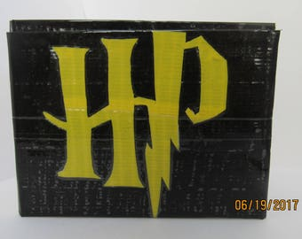 Harry Potter Duct Tape Wallet