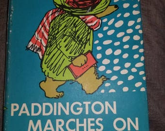 Very Rare first printing of Paddington Marches On and The 50 Best Poems of England