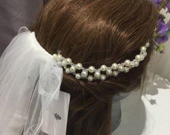Bridal hairvine,bridal hair accessories ,bridal hair jewellery