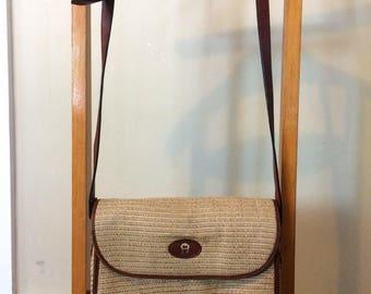 Summer/straw Etienne Aigner purse! CUTE!