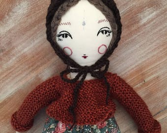 Little Violet forest doll
