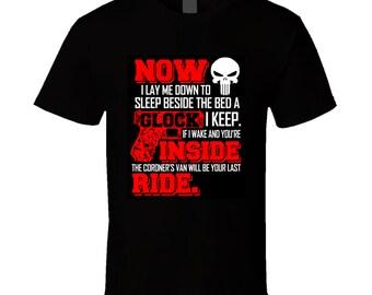 Now Second Amendment Gun T Shirt