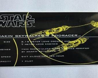 Star Wars ATAT Vintage Custom Repro Die Cut - Star wars custom die cut stickers