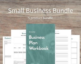 SMALL BUSINESS OWNER Bundle, Business Planner, Printables, Business Owner, A4, Business Goals, Business Planning, Tracker, Printable Planner