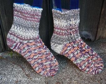 Lace heart Socks
