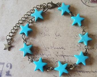 Star bracelet ~ bronze ~.