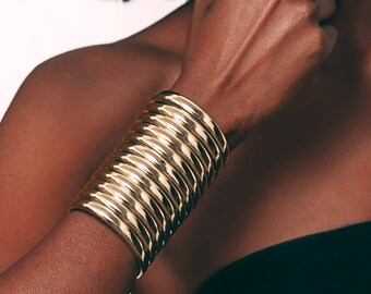 Gold Ndebele Cuff