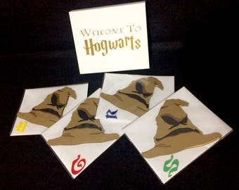 Sorting Hat Card Collection