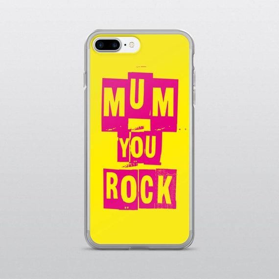 MUM YOU ROCK | iPhone Case (Yellow)