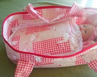 Bassinet baby fabric