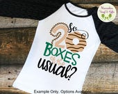 20 Boxes of the Usual t-shirt, Cookie Season Sales tee, *short sleeve, long sleeve, or raglan options*, girl scouts shirt