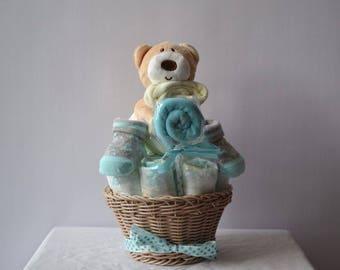 TO ORDER!  Full diaper cake. Ideal birthday gift.