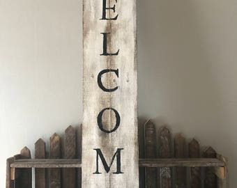 Welcome sign - pallet sign - wood sign - welcome