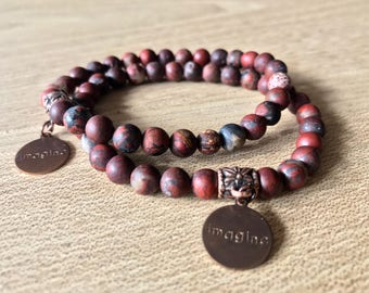 Jasper Bracelets - three ways
