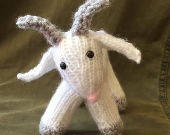 Handmade Crochet Knitted Goat Toy