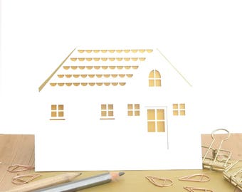 New Home Card, Home sweet home card, New house card, Congratulations on your new home card, Moving card, Housewarming card
