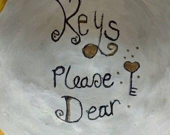 Keys please dear key bowl