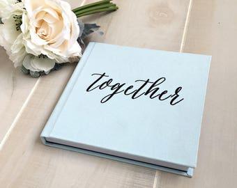 10x10 ILLUSTRATED Cover Custom Designed Wedding Album