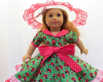 """American Girl Doll & Other 18"""" Doll Dress"""