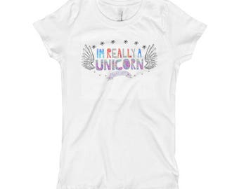 Im A Unicorn Girl's T-Shirt
