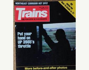 S Trains Magazine July 1989